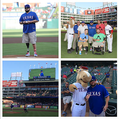 Globe Life Asks Purple Heart Recipient To Throw Ceremonial First Pitch At Rangers Game article thumbnail